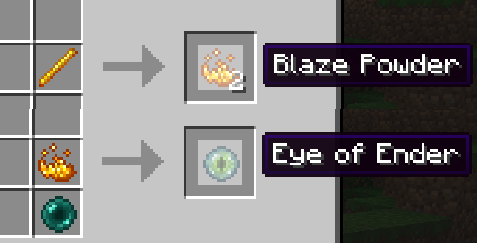Just a reminder on how to make ender eyes.